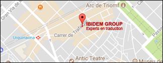 Ibidem Group. Übersetzungsagentur. Niederlassung in Barcelona, Spanien