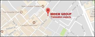 Ibidem Group. Übersetzungsagentur. Niederlassung in London, Großbritannien