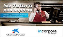 """Ibidem übersetzt den Bericht über das Programm """"Incorpora"""" der Sparkasse """"La Caixa"""" aus dem Spanischen ins Französische."""